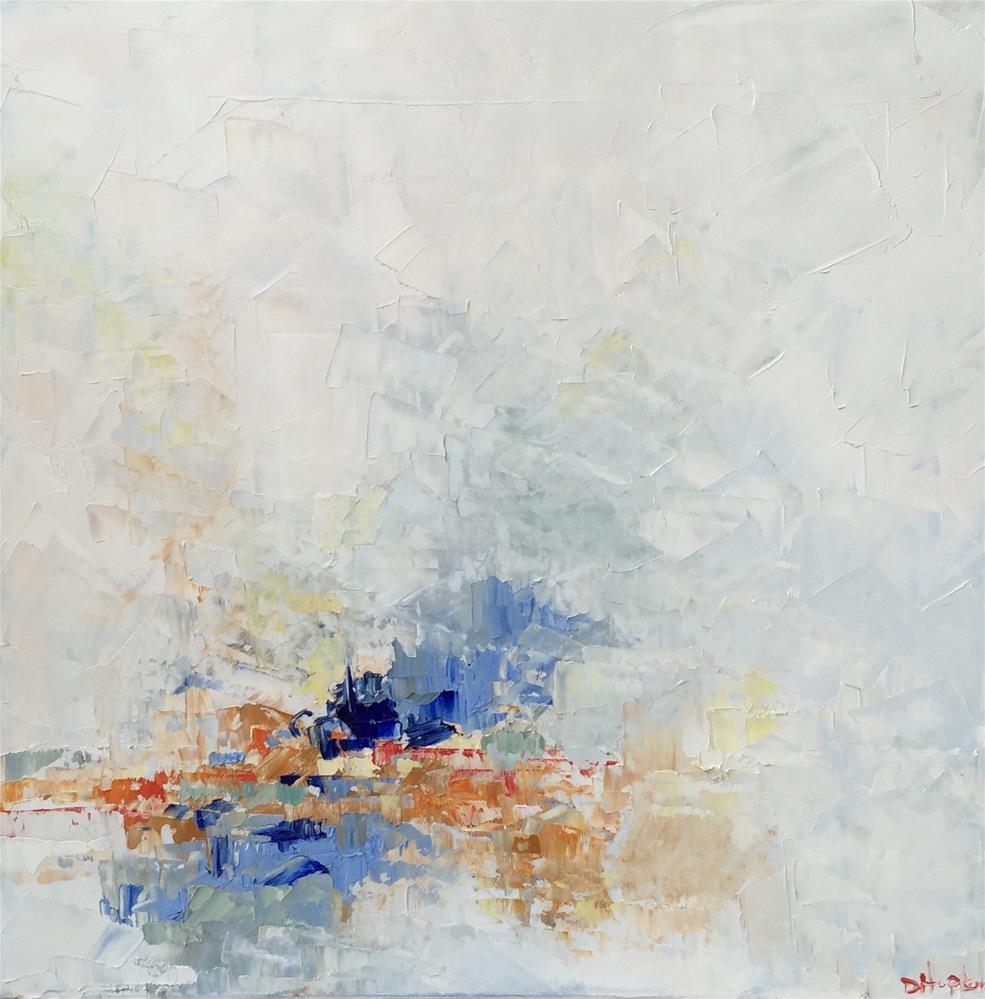"""Breadth of Blue"" original fine art by Denise Hopkins"