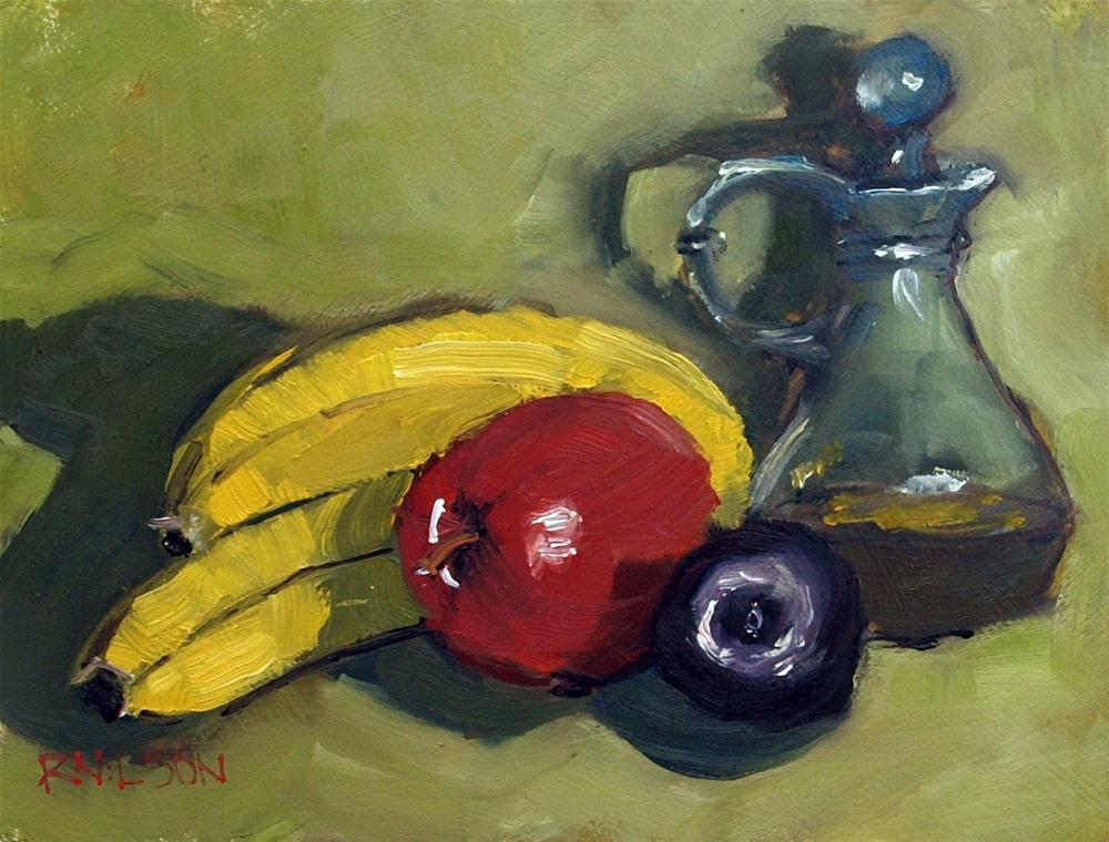 """Still Life with Fruit"" original fine art by Rick Nilson"