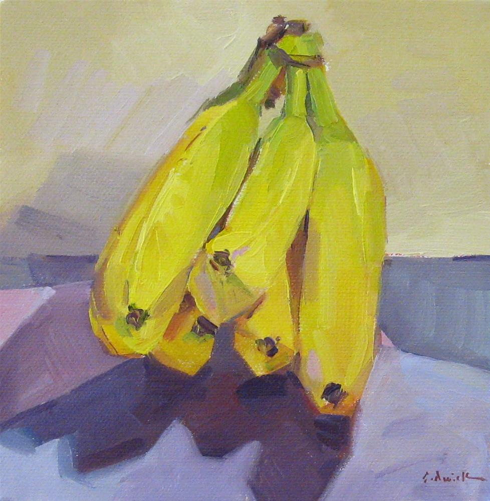 """Simply Bananas"" original fine art by Sarah Sedwick"