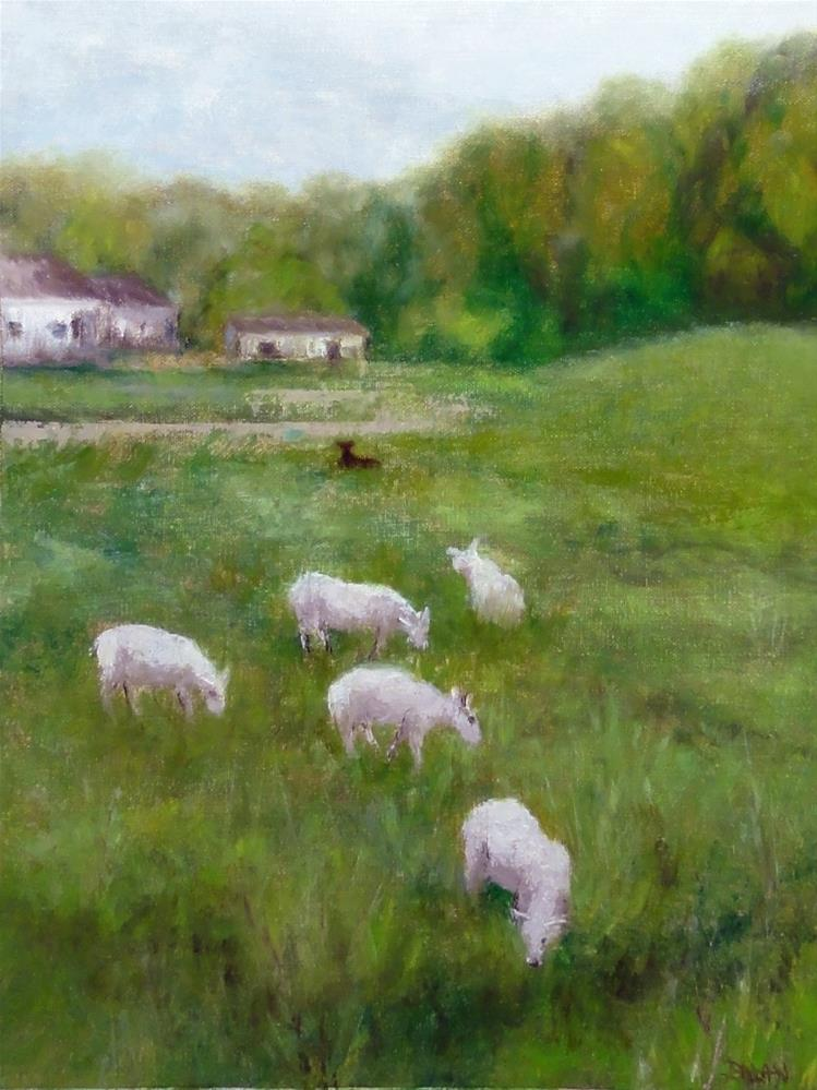 """Black Sheep"" original fine art by Dalan Wells"