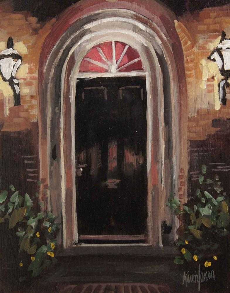 Black Door original fine art by Kevin Larson