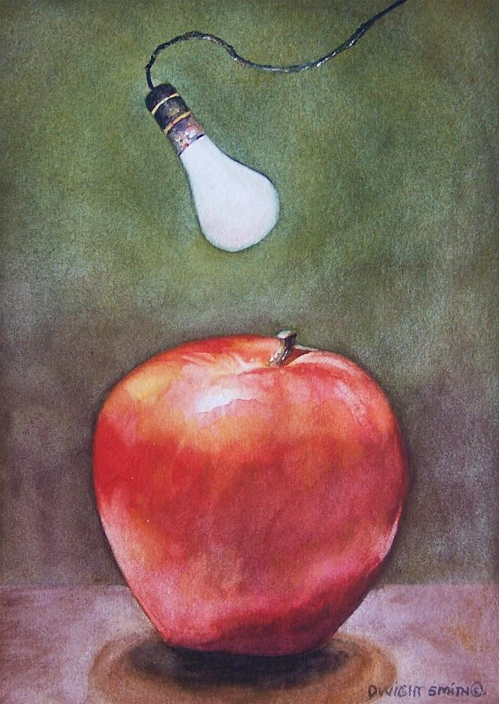 """ RED DELICIOUS "" original fine art by Dwight Smith"