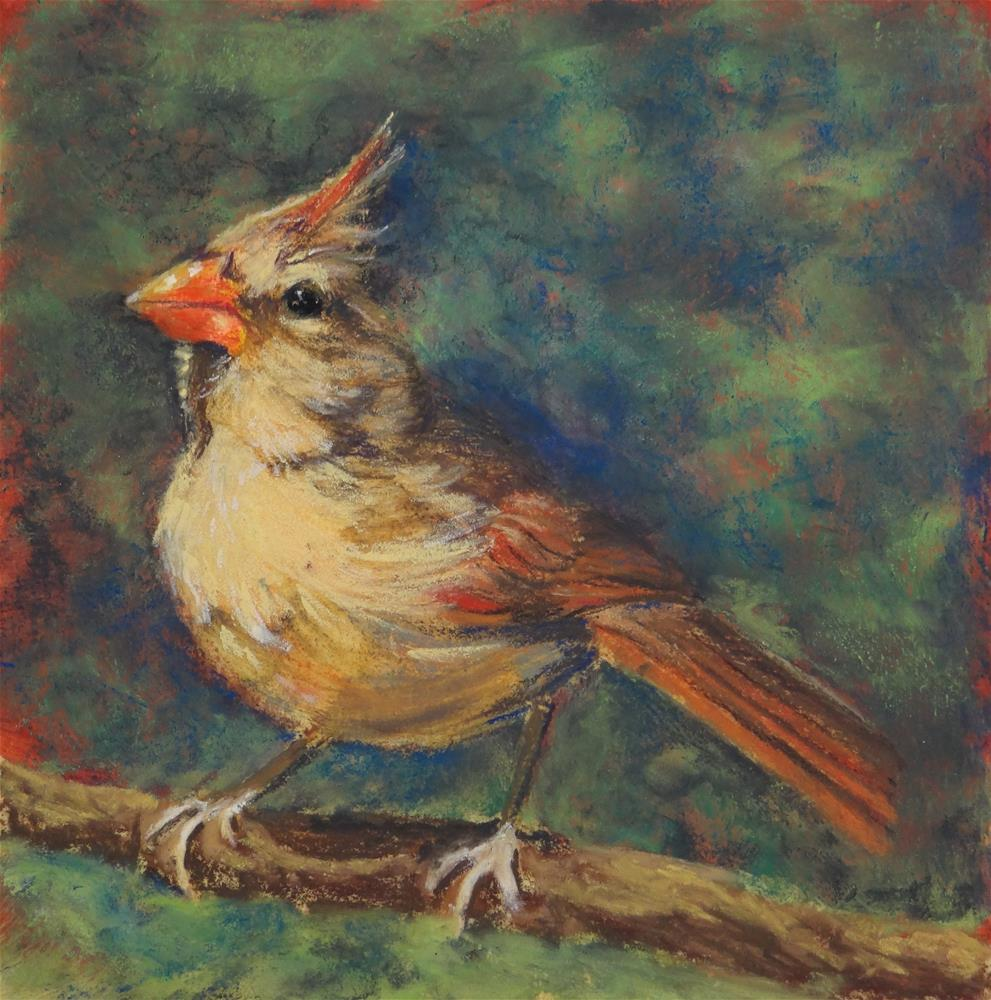 """Must Be Spring!"" original fine art by Denise Beard"