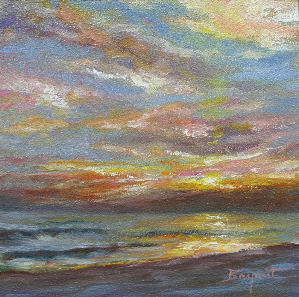 """Seaside - New Smyrna Beach, Fl. "" original fine art by Debra Bryant"