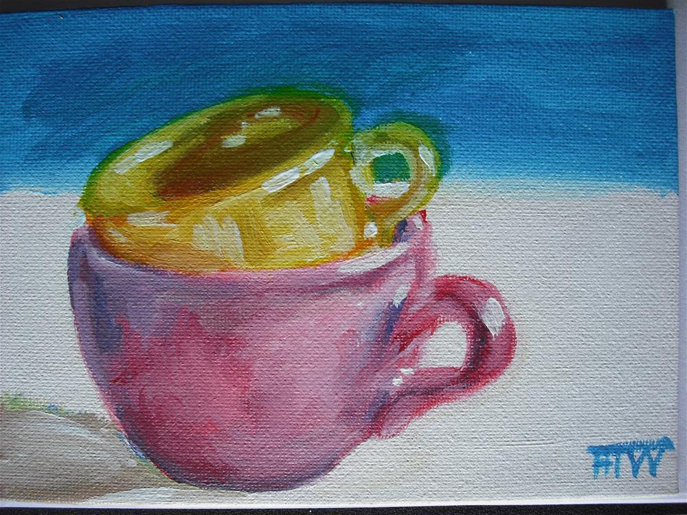 """Softly, Softly"" original fine art by Heather Whiting"