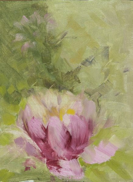 """Landscape Oil Painting Water Lily by Colorado Artist Susan Fowler"" original fine art by Susan Fowler"