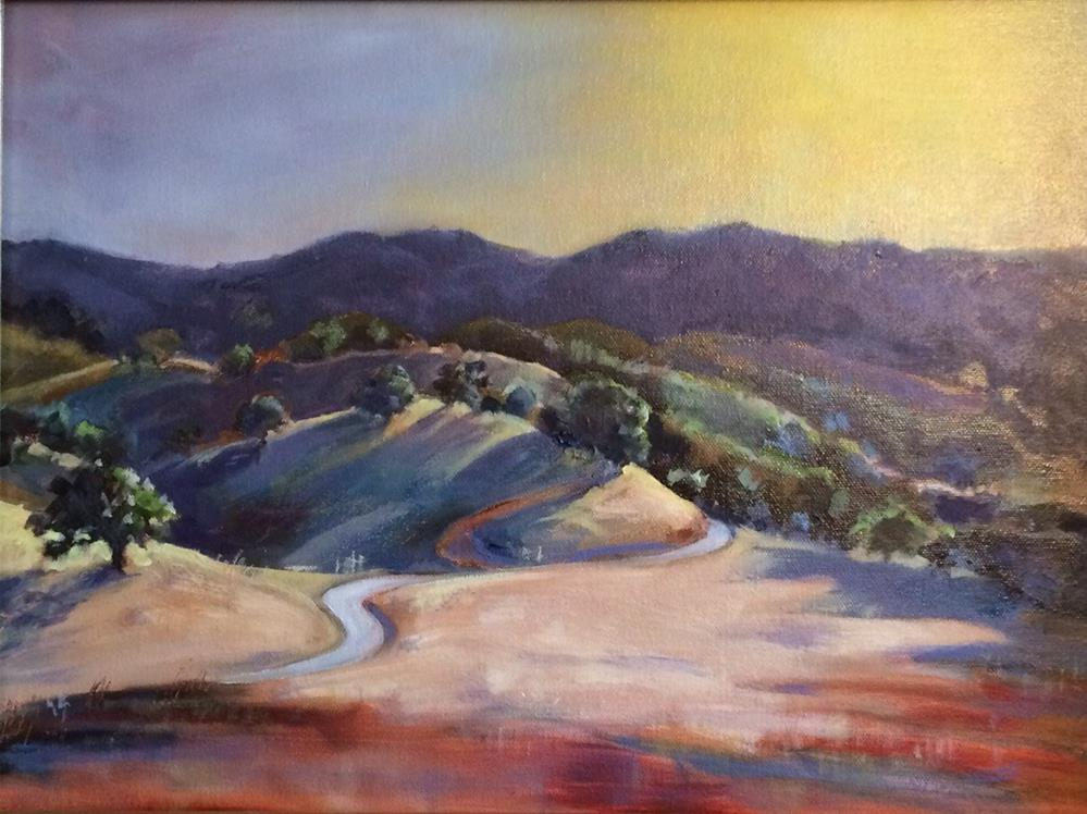 """Briones Valley"" original fine art by John Tullis"
