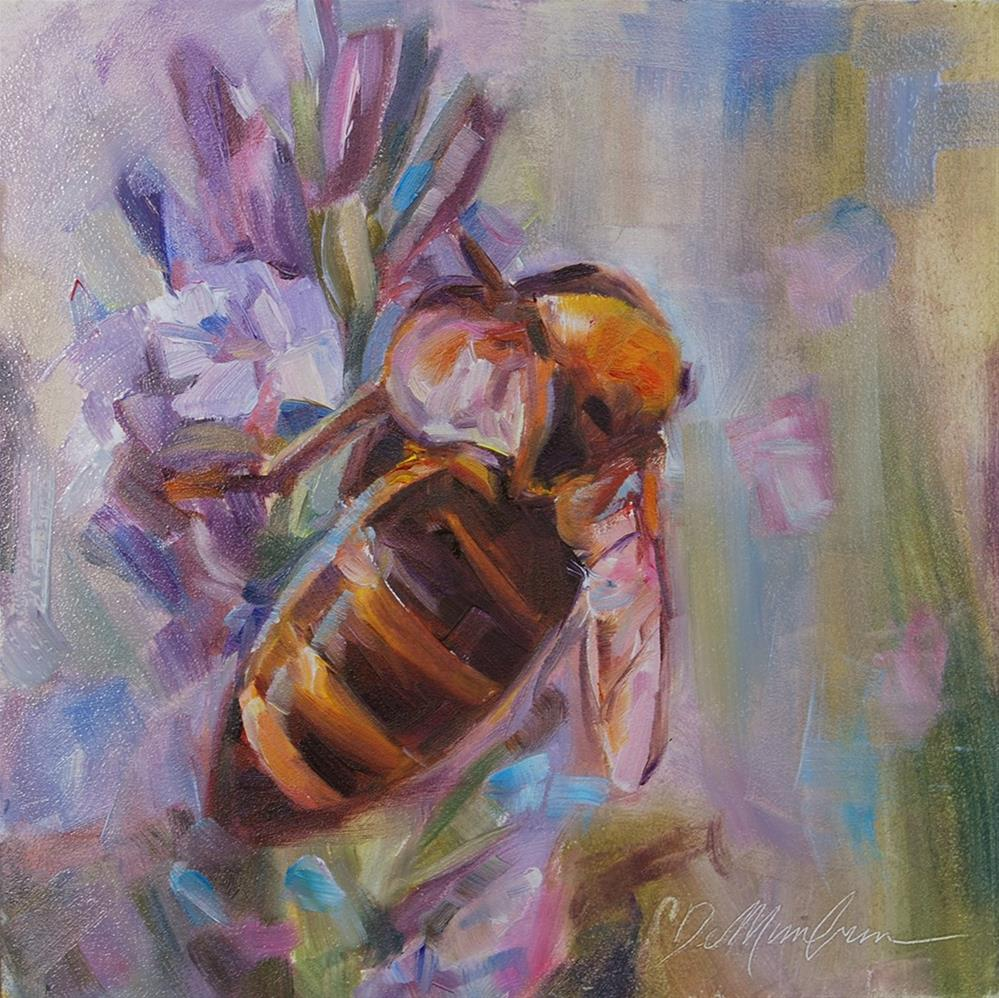 """Busy Bee"" original fine art by Carol DeMumbrum"