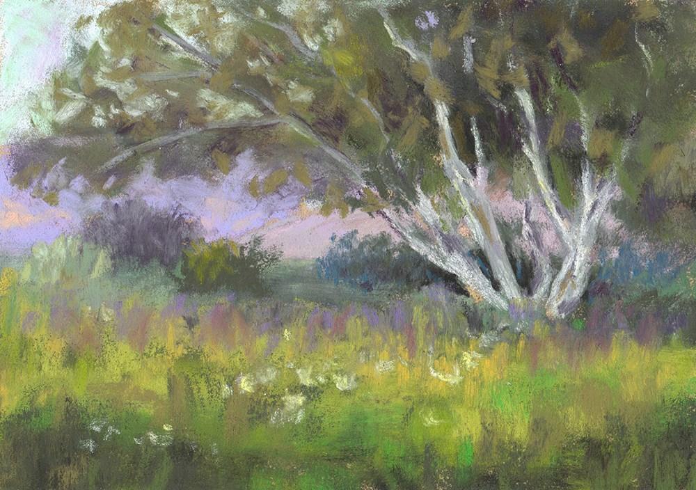 """Peaceful Moment"" original fine art by Sherri Cassell"