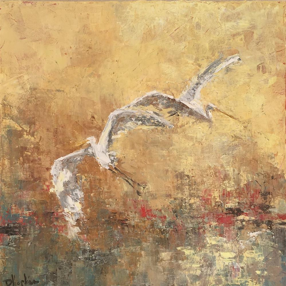 """Hope"" original fine art by Denise Hopkins"