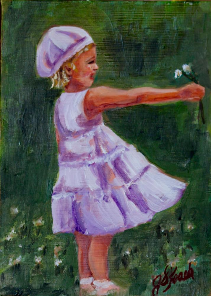 """Field of Clover"" original fine art by Jennifer Koach"