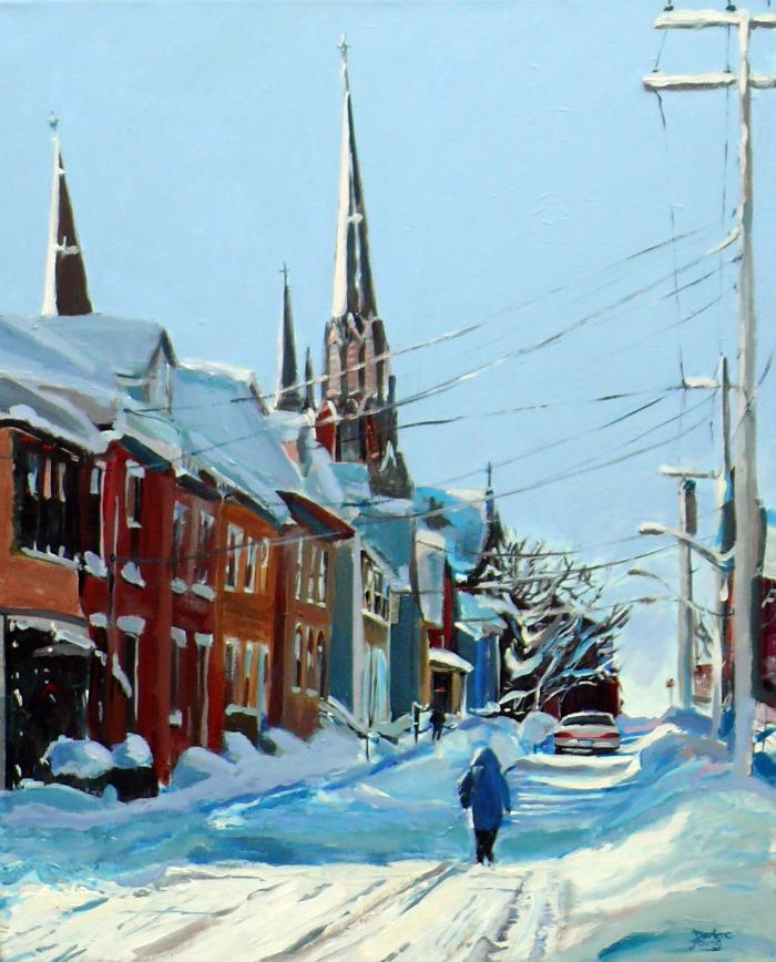 Charlottetown original fine art by Darlene Young