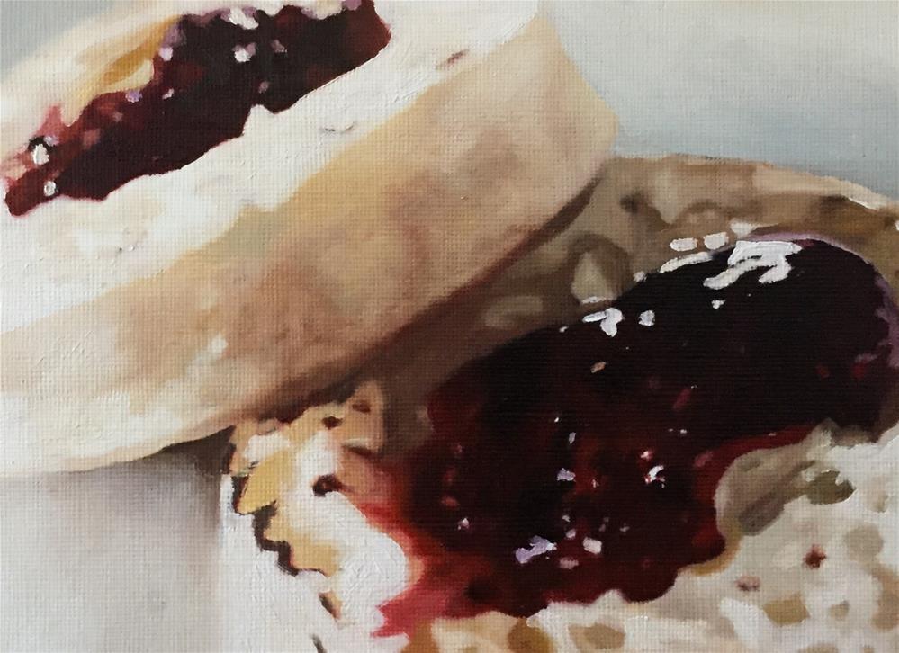 """Jammy Crumpets"" original fine art by John Cameron"