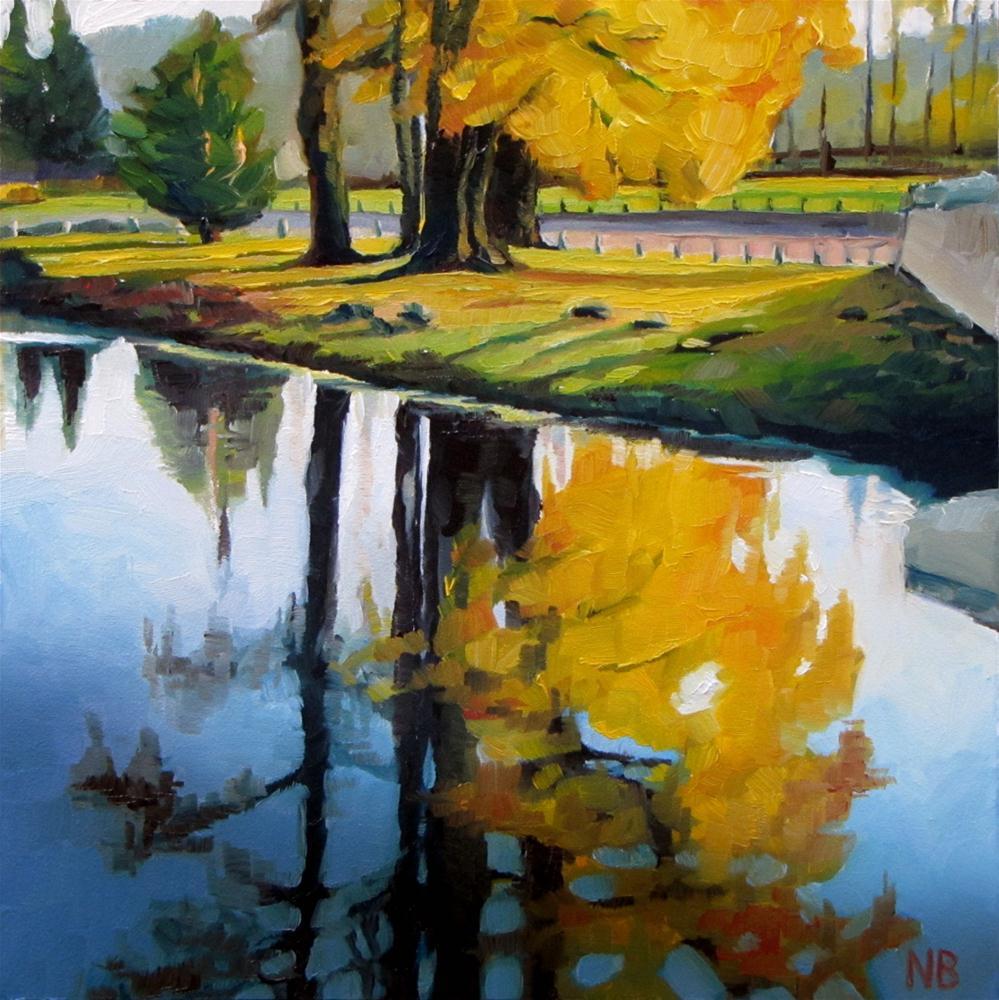 """November's Last"" original fine art by Nora Bergman"