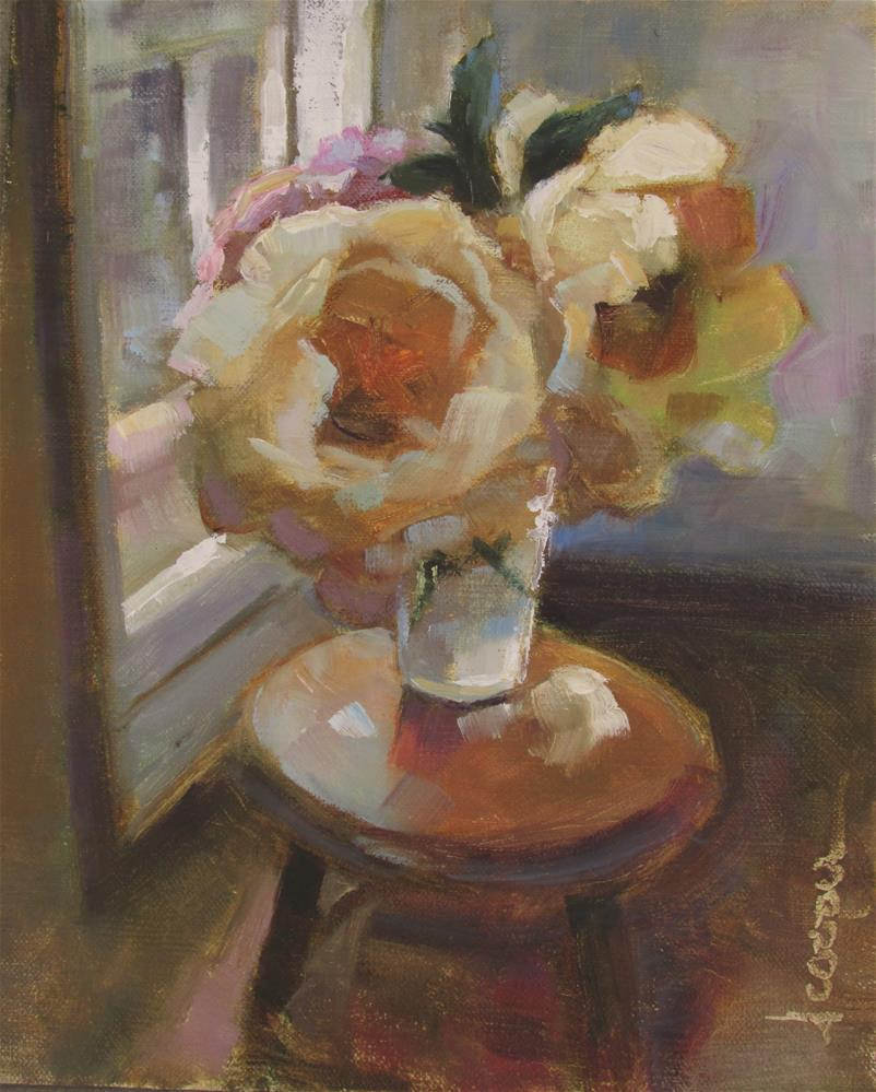 """Afternoon Light"" original fine art by Dana Cooper"