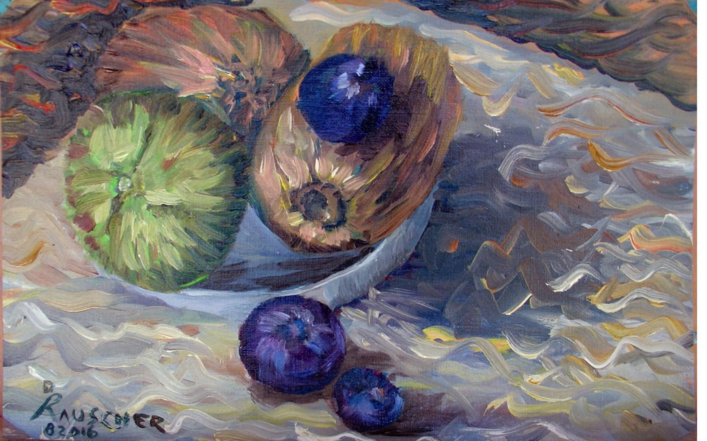 """Kiwi berries"" original fine art by Dave Rauscher"