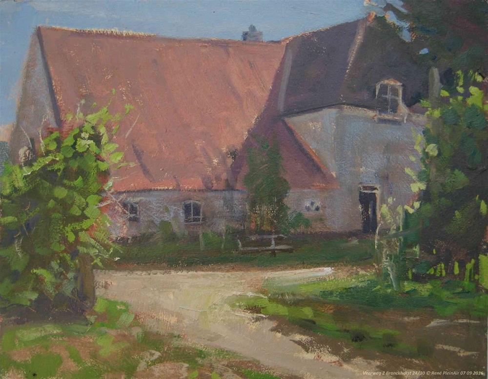 """Veerweg 2, Bronckhorst, The Netherlands."" original fine art by René PleinAir"