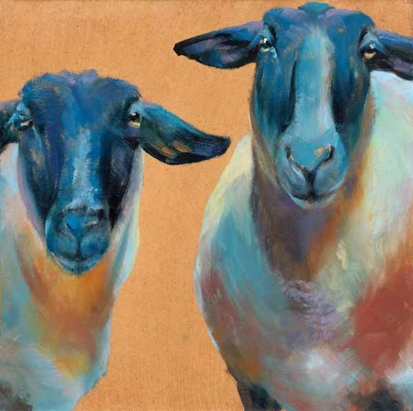 """Who, Us?"" original fine art by Brenda Ferguson"