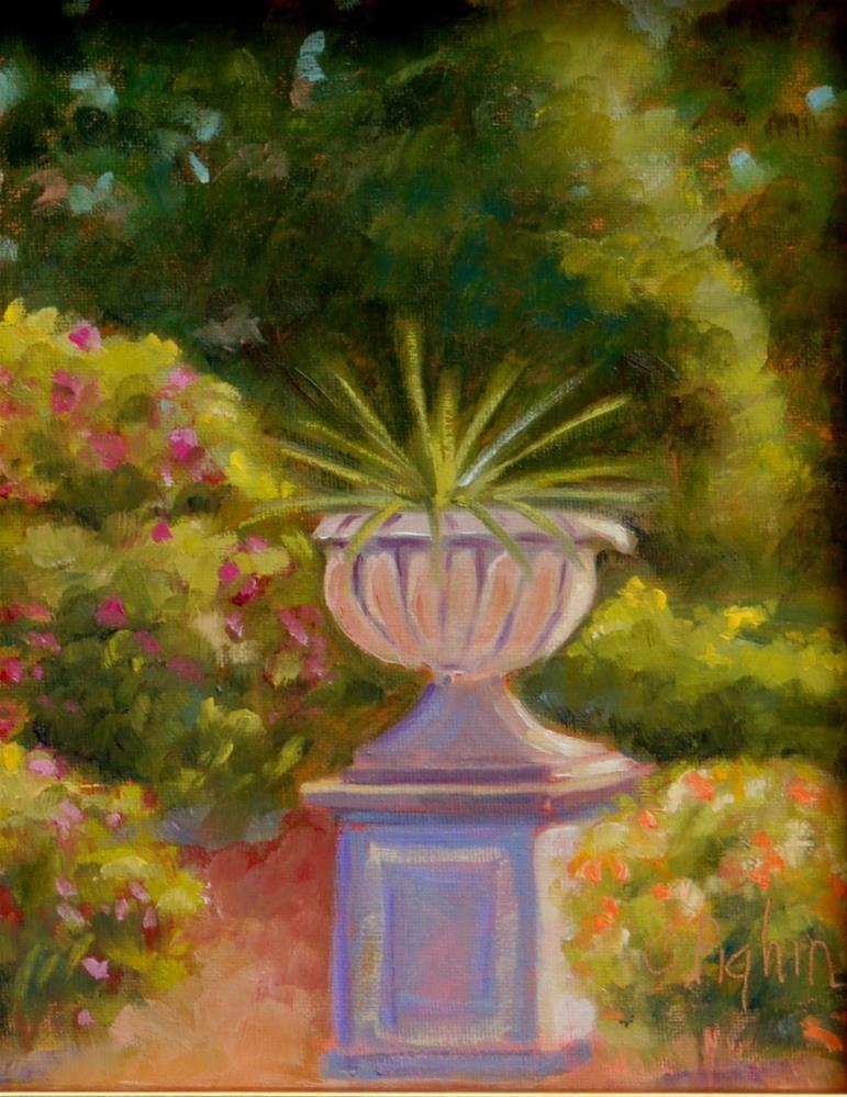 """Surrounded"" original fine art by Carol Pighin"