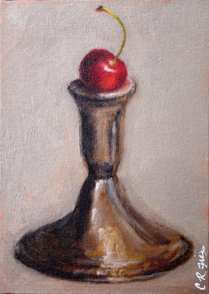 """Cherry"" original fine art by Chrystale Files"
