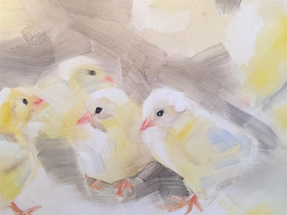 """""""273 Chicks"""" original fine art by Jenny Doh"""