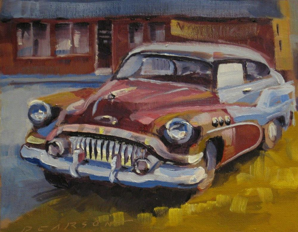 """Still Runs"" original fine art by Dennis Pearson"