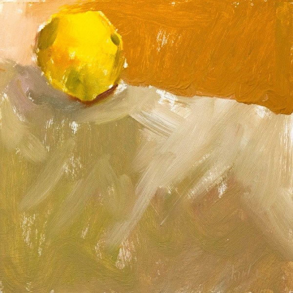 """Lemon Edge"" original fine art by Randall Cogburn"