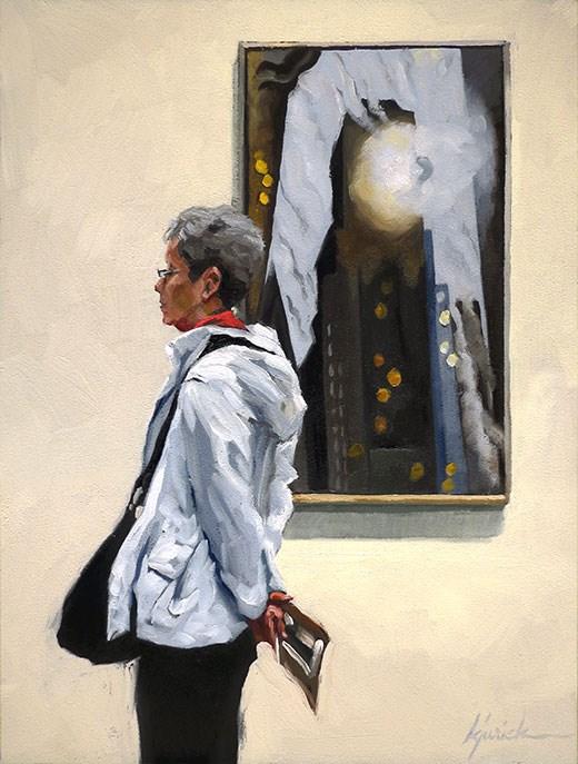 """The Light Of Day"" original fine art by Karin Jurick"