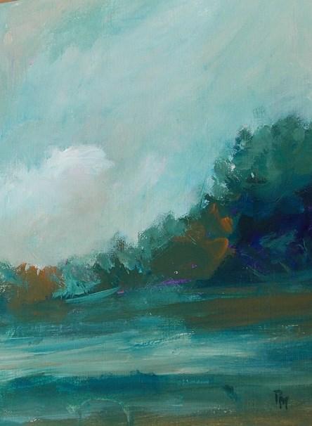 """All the Greenery IV"" original fine art by Pamela Munger"