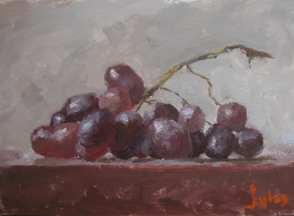 """Grapes"" original fine art by Richard Jones"