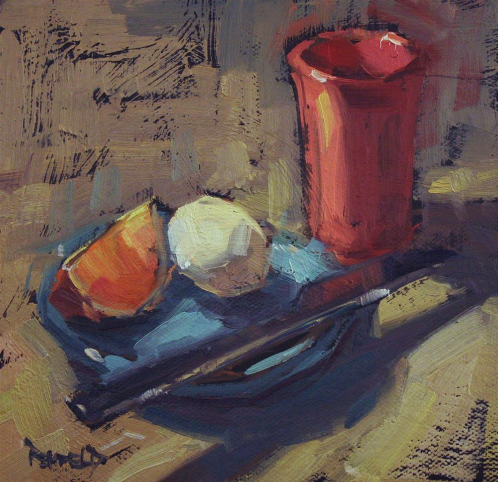 """Almost Breakfast"" original fine art by Cathleen Rehfeld"