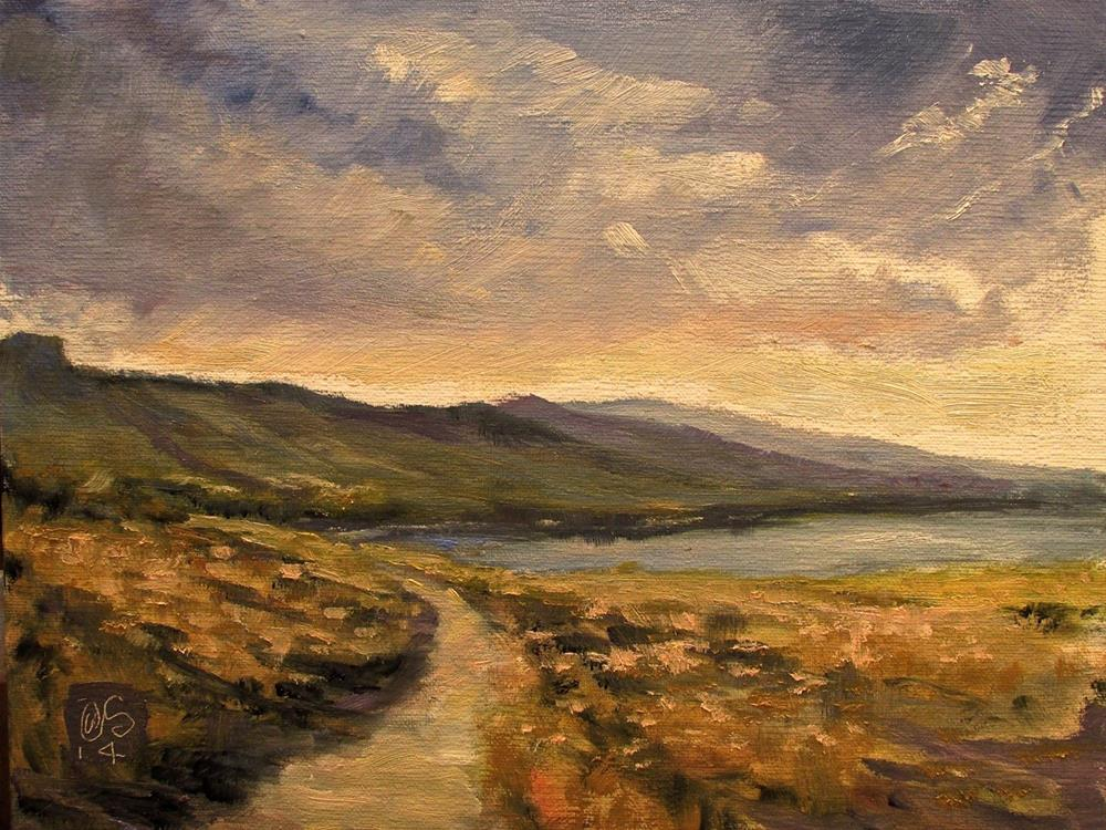 """""""The Leeward Trail"""" original fine art by Aurelio Saiz"""