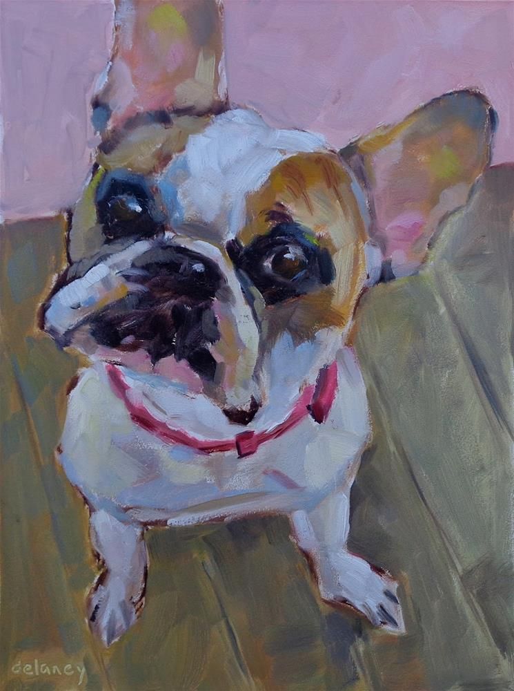 """FABULOUS FRENCHIE"" original fine art by Jean Delaney"