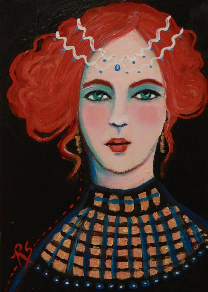 """Elisabetta"" original fine art by Roberta Schmidt"