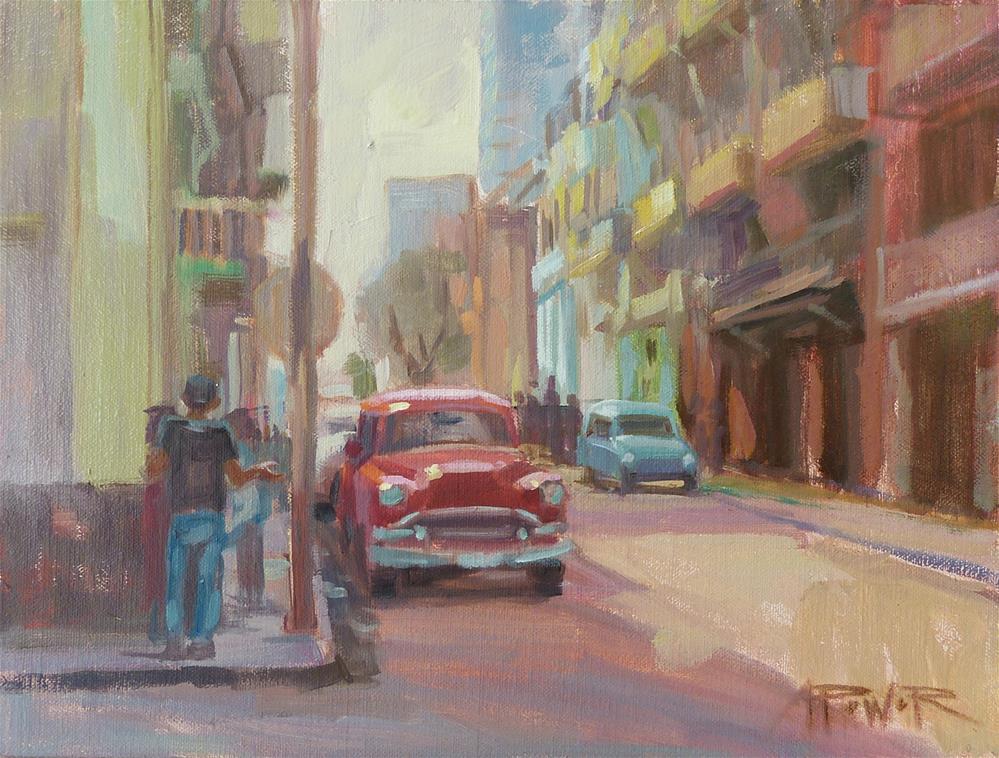 """Cuba - No Drama"" original fine art by Anette Power"