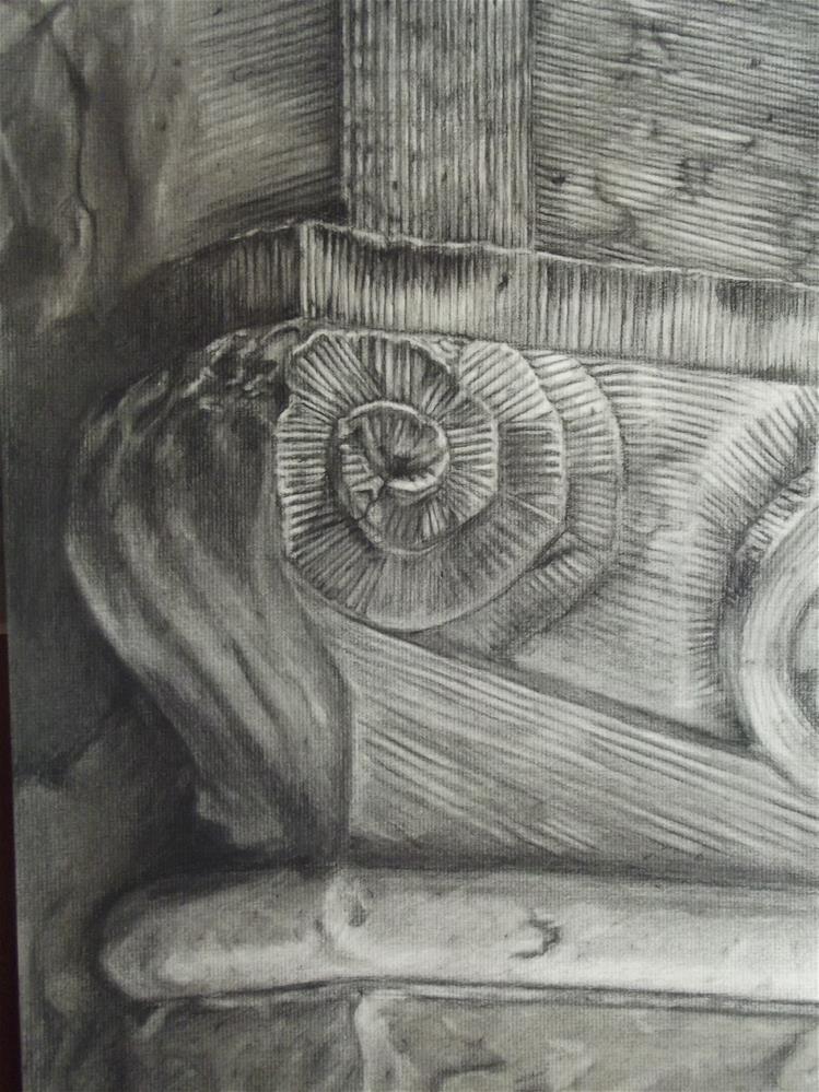 """""""Rosette"""" original fine art by Amy VanGaasbeck"""
