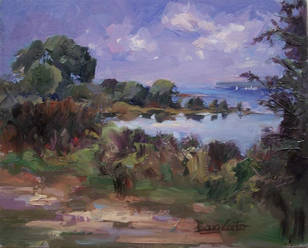 """LAKE ESCAPE"" original fine art by Doug Carter"