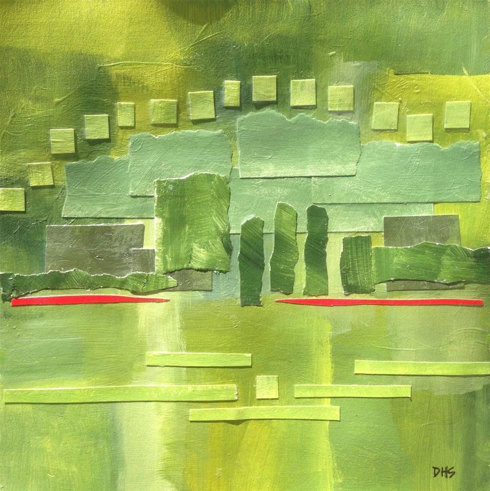 """Meadowbrook Farm Mountains"" original fine art by Dotty  Seiter"