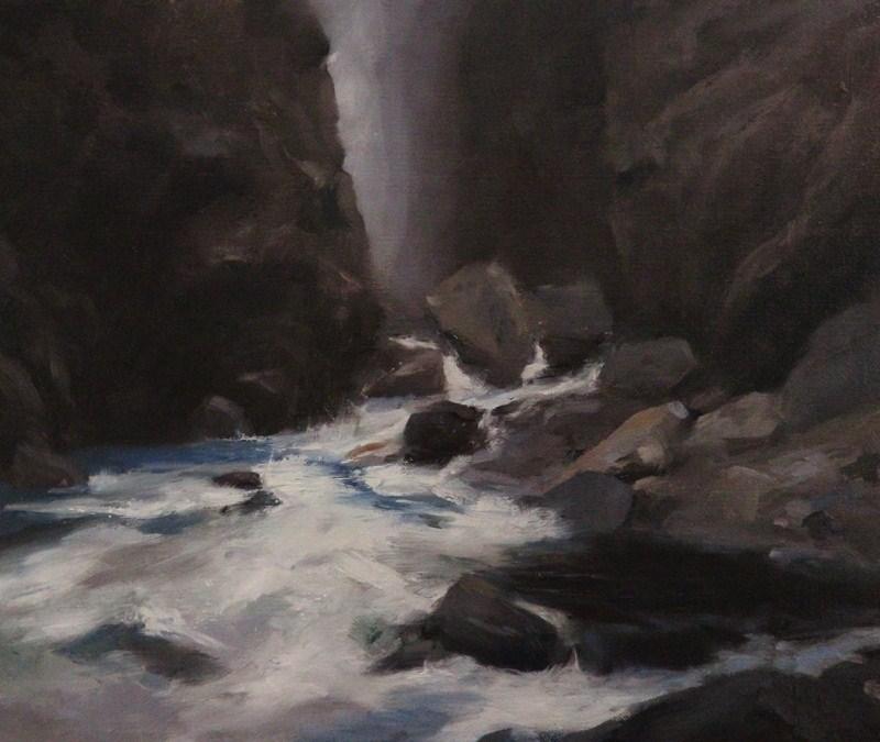 """Glymur"" original fine art by Thorgrimur Andri Einarsson"