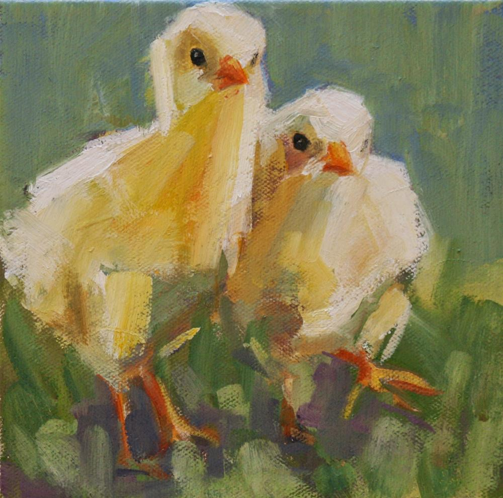 """duck"" original fine art by Carol Carmichael"
