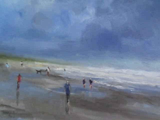 """before the  rain (study)"" original fine art by Astrid Buchhammer"