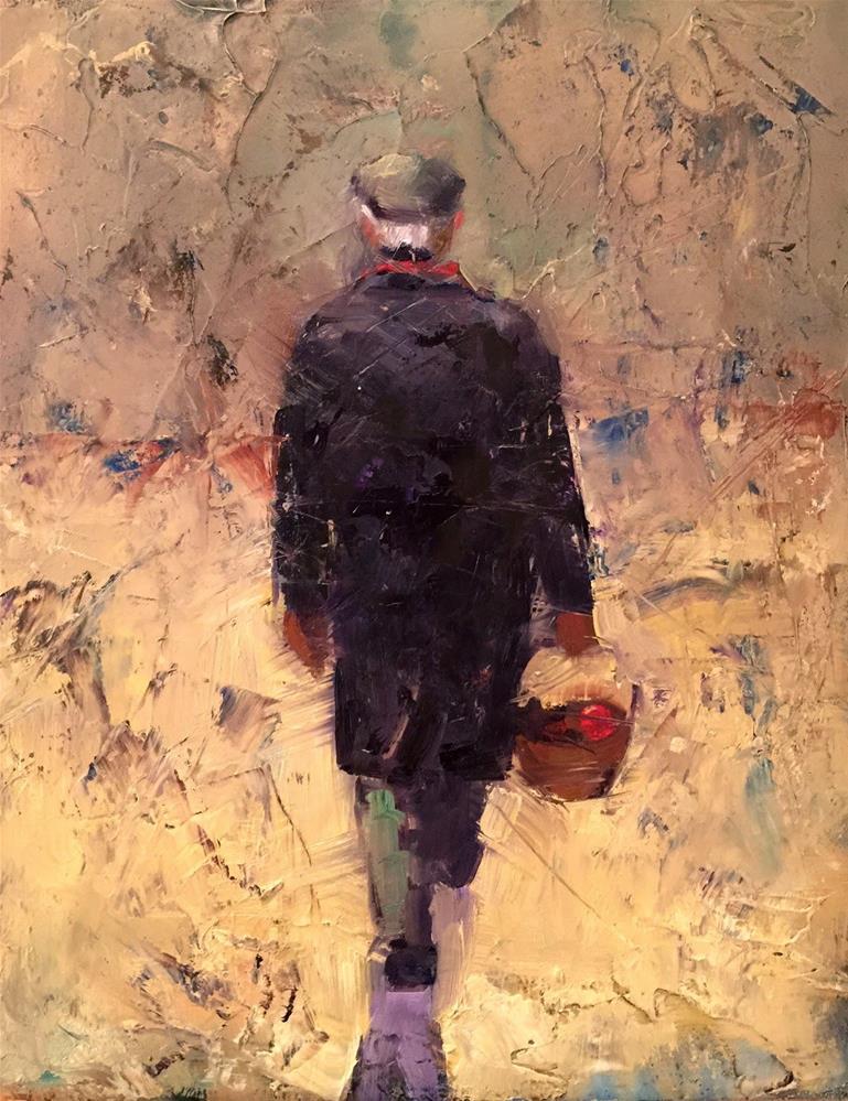"""English Gentleman, 8x10 (No longer available)"" original fine art by Ann Feldman"