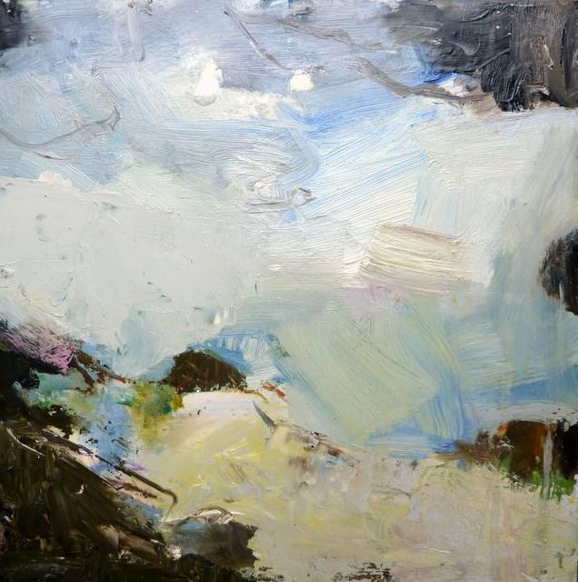 """Abstrakte Natur"" original fine art by Mila Plaickner"