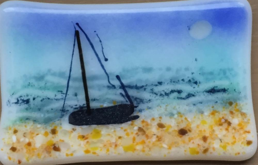 """Last Sail"" original fine art by Kristen Dukat"