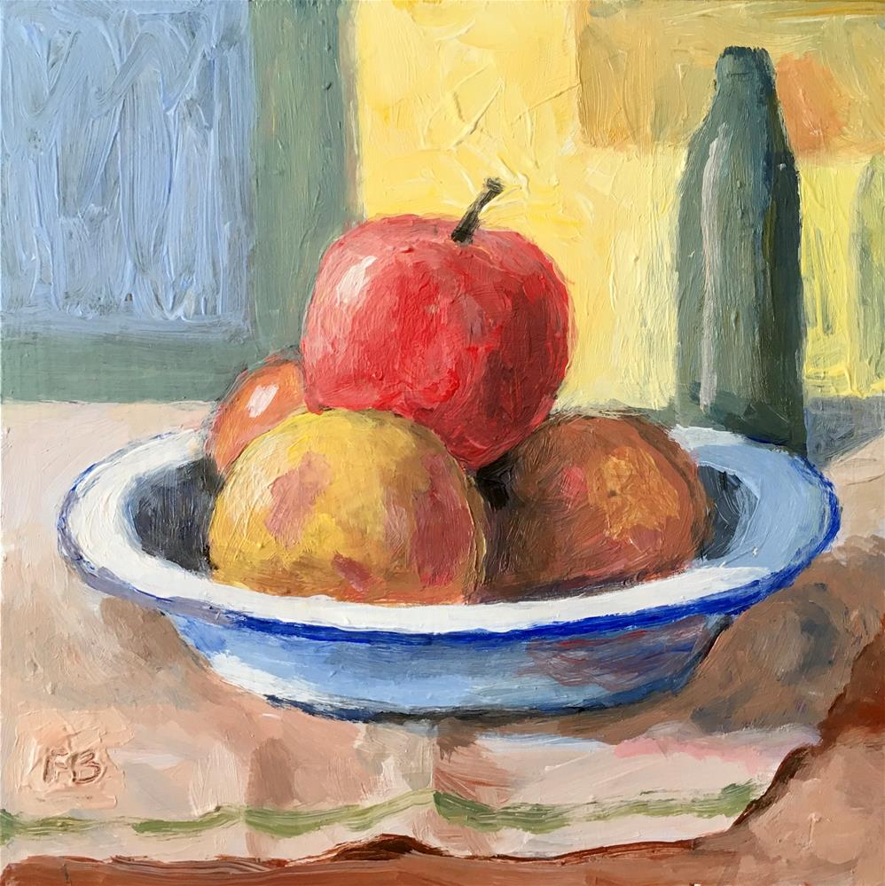 """""""230 The Fruit Bowl"""" original fine art by Fred Bell"""