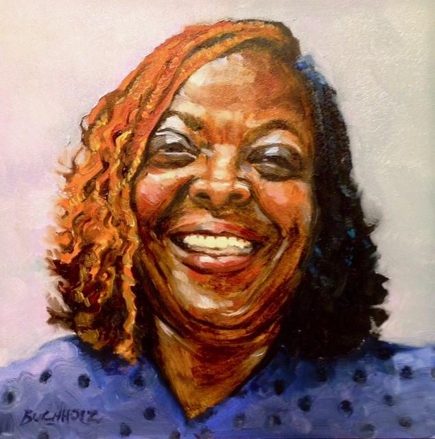 """Spread the Joy"" original fine art by Terri Buchholz"