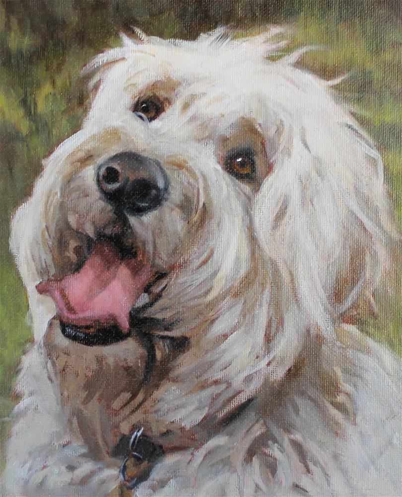 """""""Charlie Waldron"""" original fine art by Joan Carroll"""