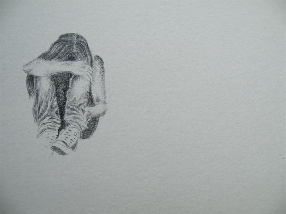 """alone"" original fine art by Sandra Woerner"