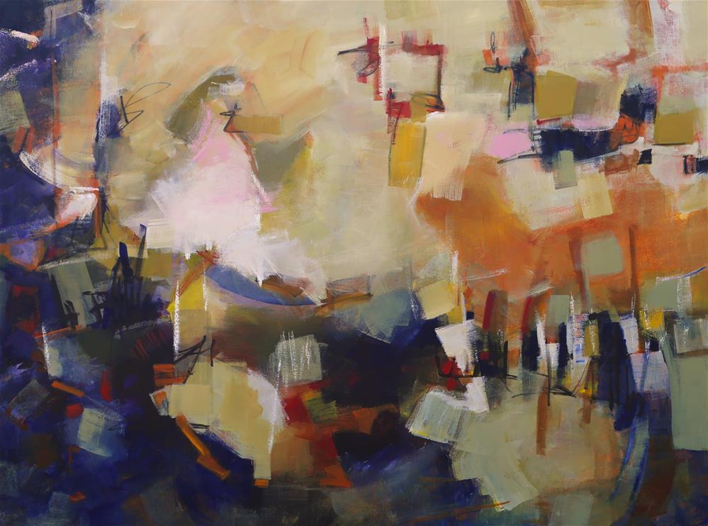 """Enchant"" original fine art by Elizabeth Chapman"