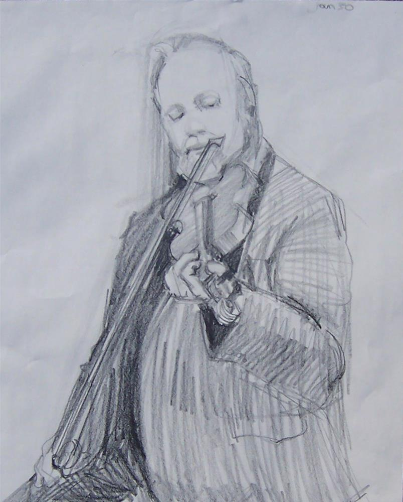 """Drawing of Jim,graphite pencil on paper,18x24,price$200"" original fine art by Joy Olney"